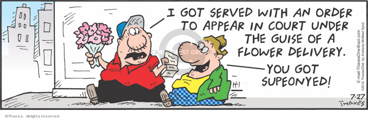 Cartoonist Bob Thaves Tom Thaves  Frank and Ernest 2019-07-27 delivery