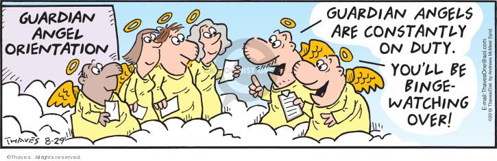 Comic Strip Bob Thaves Tom Thaves  Frank and Ernest 2019-08-29 Bob
