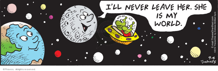 Comic Strip Bob Thaves Tom Thaves  Frank and Ernest 2019-09-04 astronomy