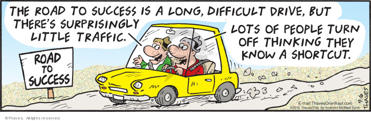 Comic Strip Bob Thaves Tom Thaves  Frank and Ernest 2019-09-06 traffic