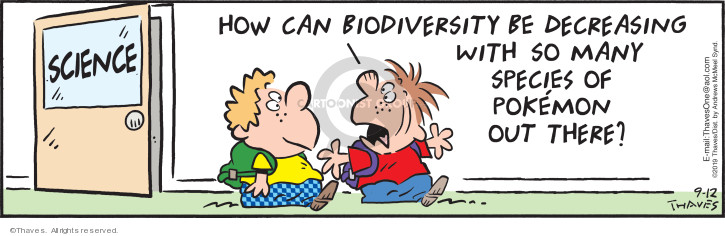 Cartoonist Bob Thaves Tom Thaves  Frank and Ernest 2019-09-12 scientific