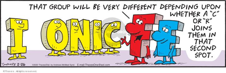 Comic Strip Bob Thaves Tom Thaves  Frank and Ernest 2020-02-26 similar