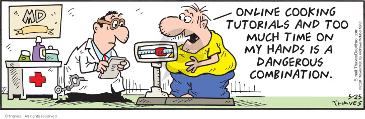 Comic Strip Bob Thaves Tom Thaves  Frank and Ernest 2020-05-25 food