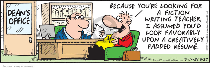 Comic Strip Bob Thaves Tom Thaves  Frank and Ernest 2020-05-27 office