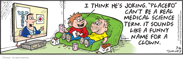 Comic Strip Bob Thaves Tom Thaves  Frank and Ernest 2020-07-06 like