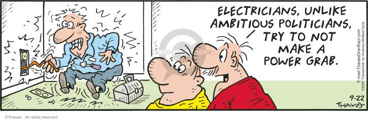 Comic Strip Bob Thaves Tom Thaves  Frank and Ernest 2020-09-22 make