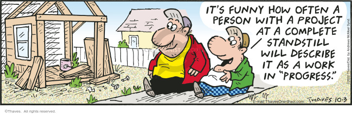 Comic Strip Bob Thaves Tom Thaves  Frank and Ernest 2020-10-03 Ernest