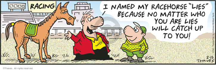 Comic Strip Bob Thaves Tom Thaves  Frank and Ernest 2021-02-15 you