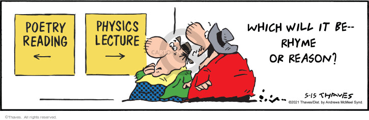 Comic Strip Bob Thaves Tom Thaves  Frank and Ernest 2021-05-15 education