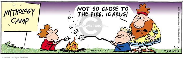 Comic Strip Bob Thaves Tom Thaves  Frank and Ernest 2021-06-05 melt