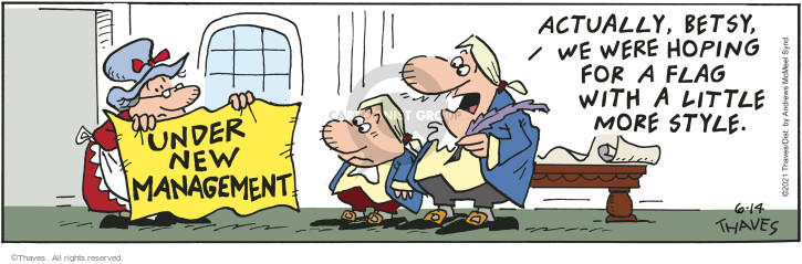 Comic Strip Bob Thaves Tom Thaves  Frank and Ernest 2021-06-14 new