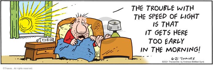 Comic Strip Bob Thaves Tom Thaves  Frank and Ernest 2021-06-21 light