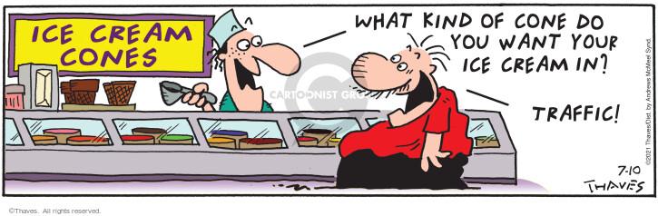 Comic Strip Bob Thaves Tom Thaves  Frank and Ernest 2021-07-10 Tom