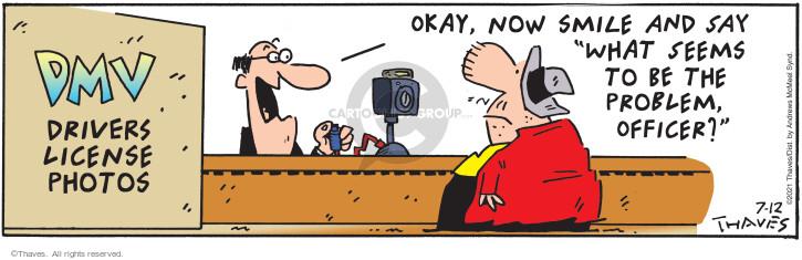 Comic Strip Bob Thaves Tom Thaves  Frank and Ernest 2021-07-12 Tom