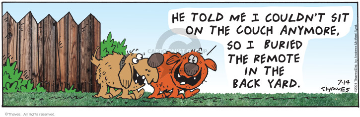 Comic Strip Bob Thaves Tom Thaves  Frank and Ernest 2021-07-14 Tom