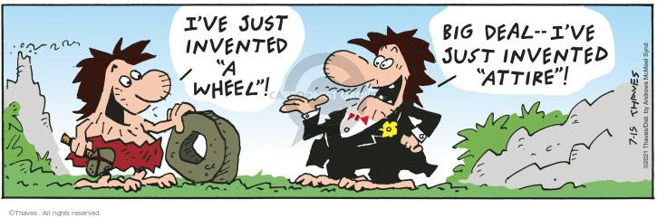Comic Strip Bob Thaves Tom Thaves  Frank and Ernest 2021-07-15 Tom