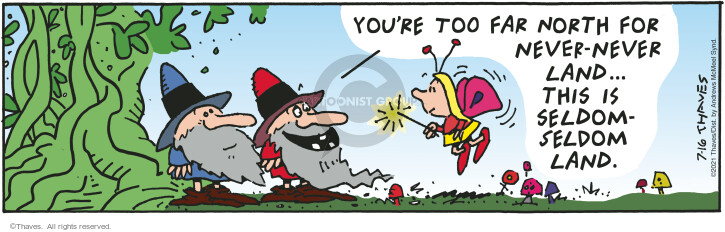 Comic Strip Bob Thaves Tom Thaves  Frank and Ernest 2021-07-16 travel