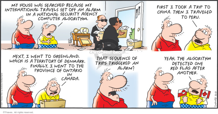 Comic Strip Bob Thaves Tom Thaves  Frank and Ernest 2021-08-15 sequence
