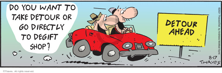 Comic Strip Bob Thaves Tom Thaves  Frank and Ernest 2021-08-17 auto