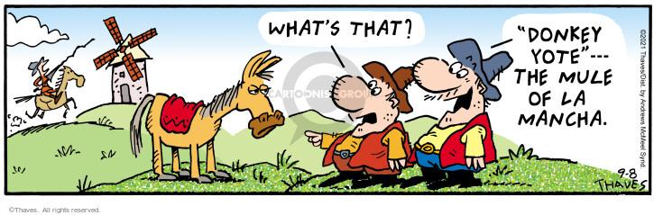 Comic Strip Bob Thaves Tom Thaves  Frank and Ernest 2021-09-08 Tom