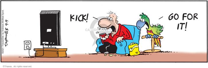Comic Strip Bob Thaves Tom Thaves  Frank and Ernest 2021-09-09 Tom