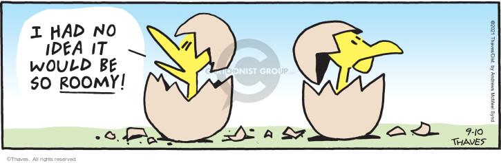 Comic Strip Bob Thaves Tom Thaves  Frank and Ernest 2021-09-10 Tom