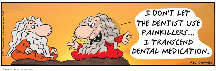 Comic Strip Bob Thaves Tom Thaves  Frank and Ernest 2021-09-30 guru