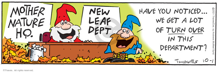 Comic Strip Bob Thaves Tom Thaves  Frank and Ernest 2021-10-01 Ernest