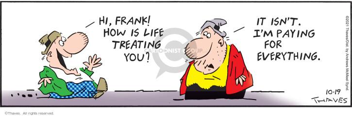 Comic Strip Bob Thaves Tom Thaves  Frank and Ernest 2021-10-19 Ernest