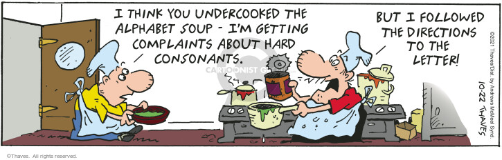 Comic Strip Bob Thaves Tom Thaves  Frank and Ernest 2021-10-22 Ernest