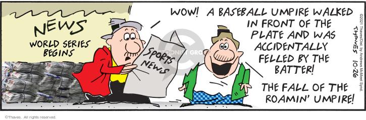 Comic Strip Bob Thaves Tom Thaves  Frank and Ernest 2021-10-26 Tom
