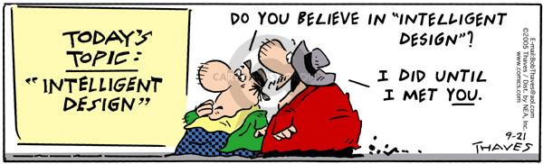 Comic Strip Bob Thaves Tom Thaves  Frank and Ernest 2005-09-21 today