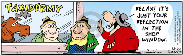 Comic Strip Bob Thaves Tom Thaves  Frank and Ernest 2005-12-20 window