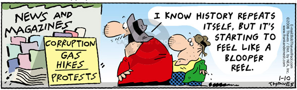 Comic Strip Bob Thaves Tom Thaves  Frank and Ernest 2006-01-10 energy
