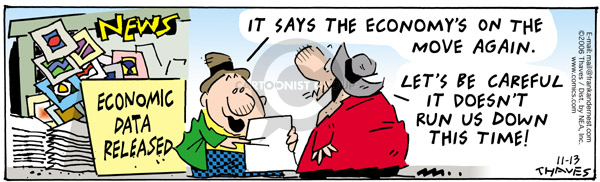 Cartoonist Bob Thaves Tom Thaves  Frank and Ernest 2006-11-13 data
