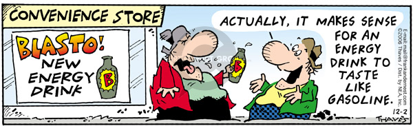 Comic Strip Bob Thaves Tom Thaves  Frank and Ernest 2006-12-02 taste
