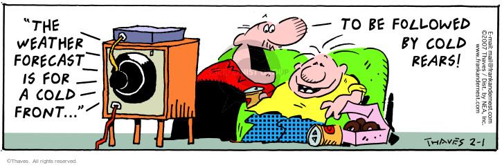 Comic Strip Bob Thaves Tom Thaves  Frank and Ernest 2007-02-01 bottom