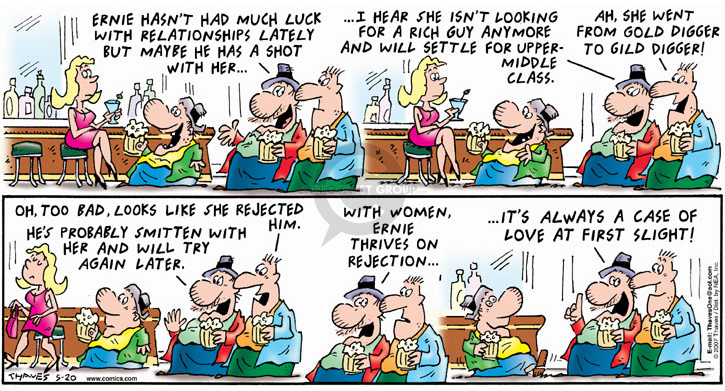 Comic Strip Bob Thaves Tom Thaves  Frank and Ernest 2007-05-20 guy