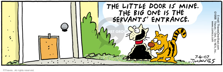 Comic Strip Bob Thaves Tom Thaves  Frank and Ernest 2007-07-06 employee
