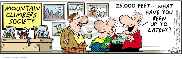 Comic Strip Bob Thaves Tom Thaves  Frank and Ernest 2007-07-11 000