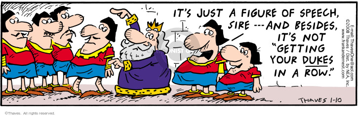 Comic Strip Bob Thaves Tom Thaves  Frank and Ernest 2008-01-10 organize