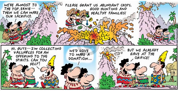 Cartoonist Bob Thaves Tom Thaves  Frank and Ernest 2008-03-02 offer