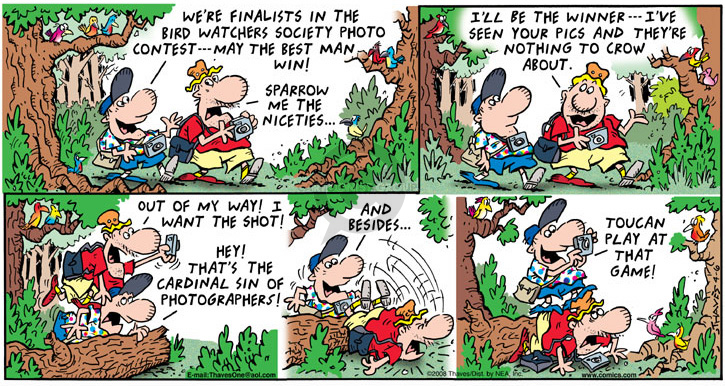 Comic Strip Bob Thaves Tom Thaves  Frank and Ernest 2008-04-06 photography