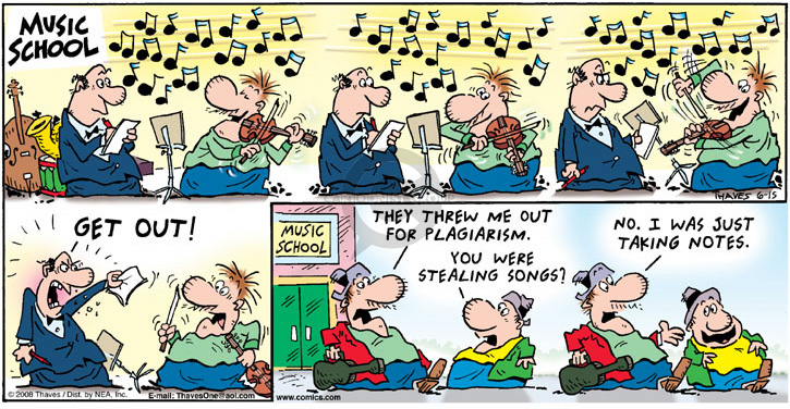 Comic Strip Bob Thaves Tom Thaves  Frank and Ernest 2008-06-15 education