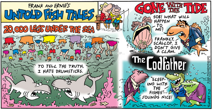 Comic Strip Bob Thaves Tom Thaves  Frank and Ernest 2008-07-13 movie title