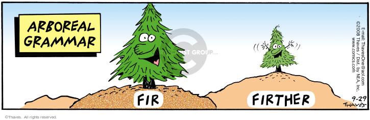 Arboreal Grammar.  Fir.  Firther.
