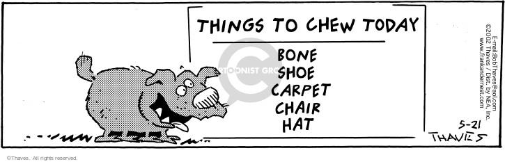 Comic Strip Bob Thaves Tom Thaves  Frank and Ernest 2002-05-21 arrange
