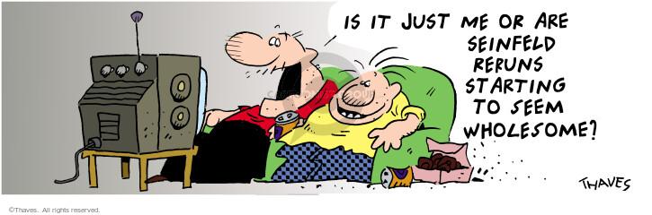 Comic Strip Bob Thaves Tom Thaves  Frank and Ernest 2002-07-02 ERA