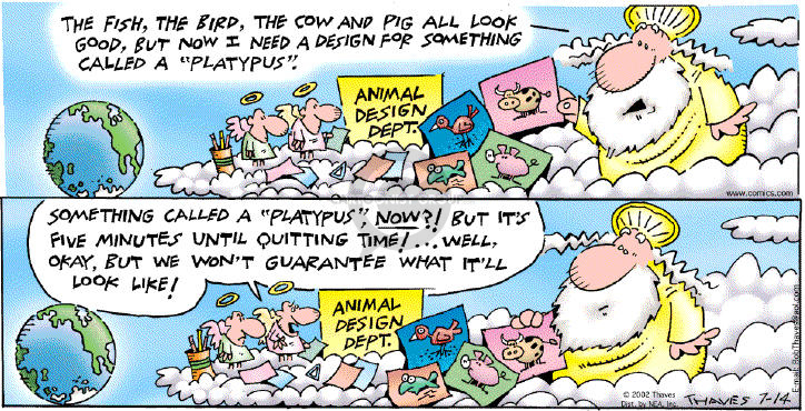 Comic Strip Bob Thaves Tom Thaves  Frank and Ernest 2002-07-14 comment