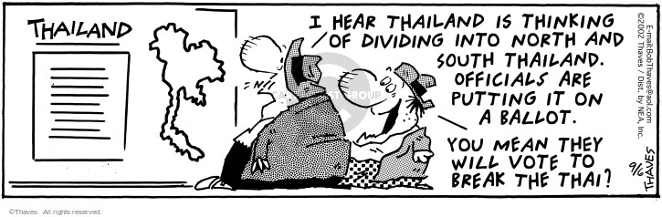 Comic Strip Bob Thaves Tom Thaves  Frank and Ernest 2002-09-06 divide